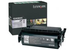 Lexmark 12A5845 czarny (black) toner oryginalny