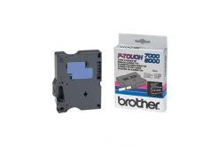 Brother TX-335, 12mm x 15m, biały druk / biały podkład, taśma oryginalna