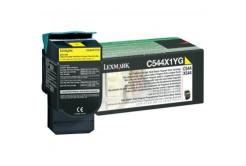 Lexmark C544X1YG żółty (yellow) toner oryginalny