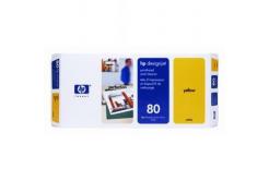 HP 80 C4823A żółty (yellow) głowica drukująca oryginalna