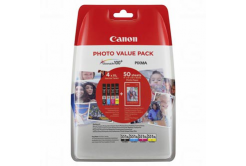 Canon tusz oryginalna 6443B006, CLI-551XL C/M/Y/BK Photo Value Pack, CMYK, blistr, Canon Pixma iP7250,iP8750,iX6850,MG5450,MG5550,M