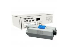 Toshiba TFC26SK, 6B000000559 czarny (black) toner oryginalny