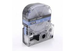 Epson LC-SD6BW, 6mm x 8m, biały druk / niebieski podkład, taśma zamiennik