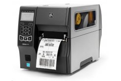 Zebra ZT410 ZT41043-T1E0000Z drukarka etykiet, 12 dots/mm (300 dpi), peeler, RTC, display, EPL, ZPL, ZPLII, USB, RS232, BT, Ethernet