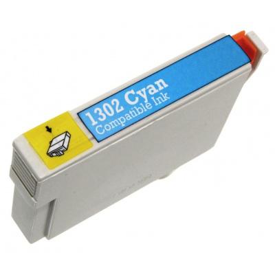 Epson T1302 błękitny (cyan) tusz zamiennik