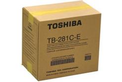 Toshiba pojemnik na zużyty toner, oryginalny TB-281c, e-Studio 281c, 351c, 451c
