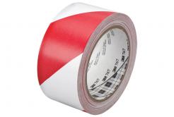 3M 767 Taśma pcv biały-czerwony, 50 mm x 33 m