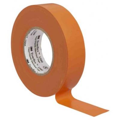 3M Temflex 1500 Taśma elektroizolacyjna , 19 mm x 20 m, pomarańczowym