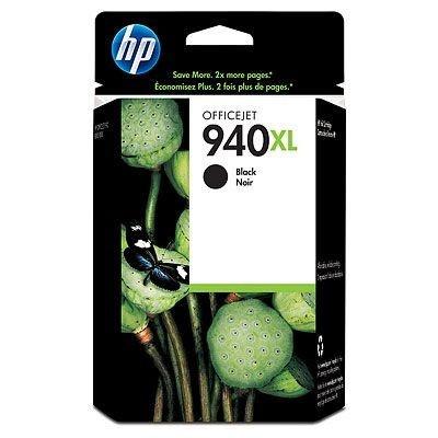 HP 940XL C4906A czarny (black) tusz oryginalna, prošlá expirace