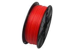 GEMBIRD Tisková struna (filament) ABS, 1,75mm, 1kg, fluorescentní, czerwony