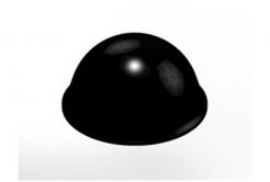 3M Bumpon SJ5017 czarny, taca = 40 szt.