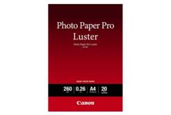 Canon Photo Paper Pro Luster, papier fotograficzny, błyszczący, biały, A4, 260 g/m2, 20  szt., 6211B006, druk atramentowy