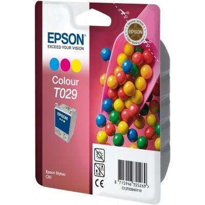Epson T029401 kolorowa (color) tusz oryginalna