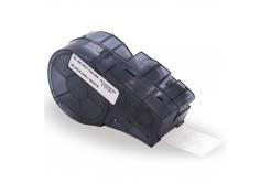Brady M21-500-488 / 110935, polyester, 12.70 mm x 6.40 m, czarny druk / biały podkład, taśma zamiennik