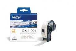 Brother DK-11204, 17mm x 54mm, etykiety papierowe oryginalne