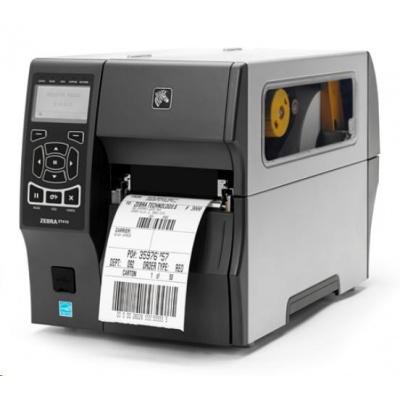 "Zebra ZT410 ZT41043-T3E0000Z TT drukarka etykiet, 4"", 300 dpi, RS232, USB, Bluetooth, Peel w/ Liner Take-Up, EZPL"