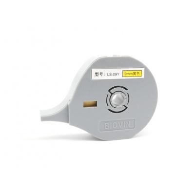 Taśma samoprzylepna Biovin LS-09Y, 9mm x 8m, żółty