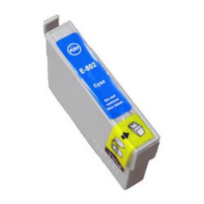 Epson T0802 błękitny (cyan) tusz zamiennik