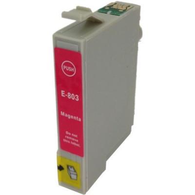 Epson T0803 purpurowy (magenta) tusz zamiennik