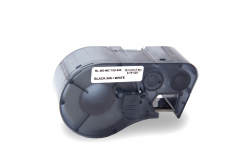 Brady MC-750-595-WT-BK / 143372, Labelmaker Tape, 19.05 mm x 7.62 m, czarny druk / biały podkład, taśma zamiennik