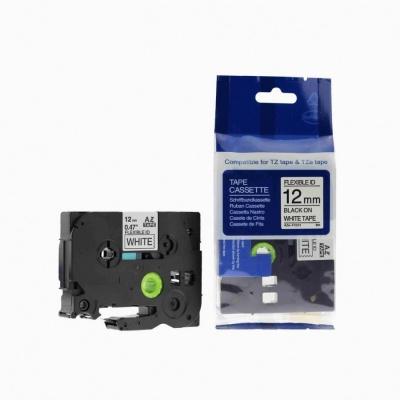 Taśma zamiennik Brother TZ-FX231 / TZe-FX231, 12mm x 8m, flexi, czarny druk / biały podkład