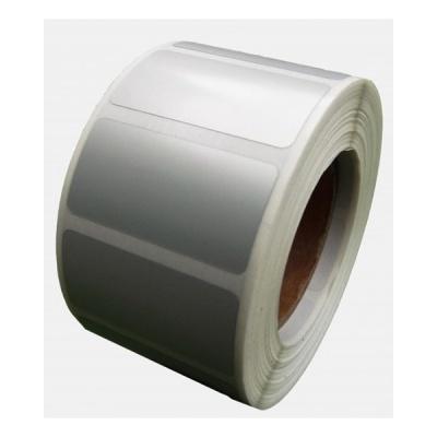 Samoprzylepne PP (polypropylen) etykiety, 50x40mm, 1000 szt., pro TTR, srebrny, rolka