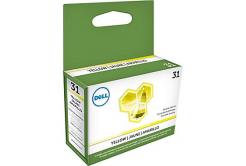 Dell 592-11810, MCCT6 żółty (yellow) tusz oryginalna