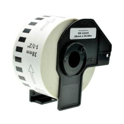 Brother zamiennik DK-22225 38mm x 30,48m, etykiety papierowe