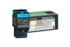 Lexmark C544X1CG błękitny (cyan) toner oryginalny