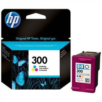 HP 300 CC643EE kolorowa tusz oryginalna