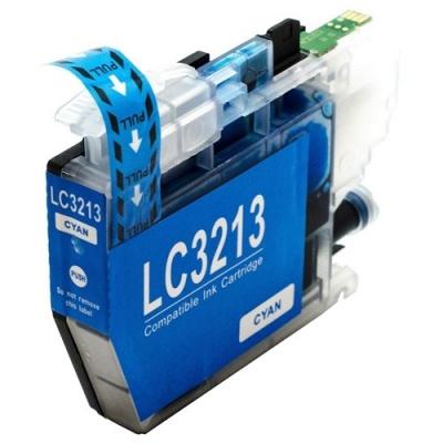 Brother LC-3213 błękitny (cyan) tusz zamiennik