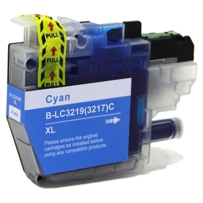 Brother LC-3217XL / LC-3219XL błękitny (cyan) tusz zamiennik