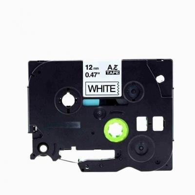 Brother TZe-V231, 12mm x 5,5m, czarny druk / biały podkład, vinyl, taśma zamiennik