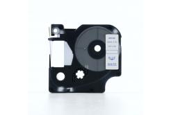 Taśma zamiennik Dymo 45014, S0720540, 12mm x 7m niebieski druk / biały podkład