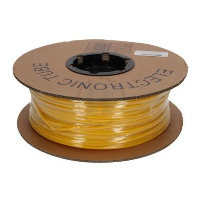 Rura termokurczliwa, okrągła, BS-25Z, 2:1, 2,5 mm, 200 m, UL żółty