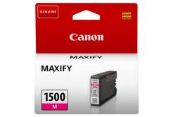 Canon tusz oryginalna PGI-1500 M, magenta, 300 stron, 4.5ml, 9230B001, Canon MAXIFY MB2050,MB2150,MB2155,MB2350,MB2750,MB2755