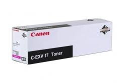 Canon C-EXV17 purpurowy (magenta) toner oryginalny