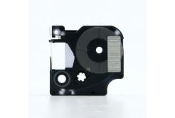 Taśma zamiennik Dymo 45810, 19mm x 7m, biały druk / przezroczysty podkład