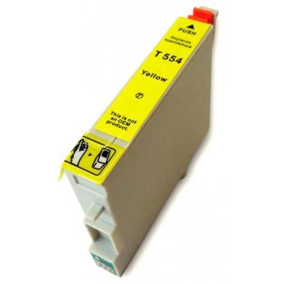 Epson T0554 żółty (yellow) tusz zamiennik