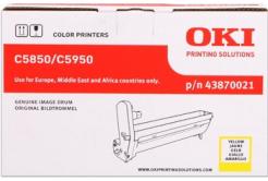 OKI 43870021 żółty (yellow) bęben oryginalny