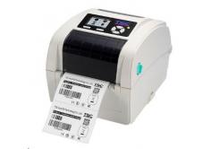 TSC TC210, 8 dots/mm (203 dpi), disp., RTC, TSPL-EZ, USB, RS232, Ethernet, beige