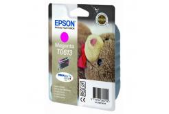 Epson T0613 purpurowy (magenta) tusz oryginalna