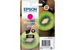 Epson 202 T02F34010 purpurowy (magenta) tusz oryginalna