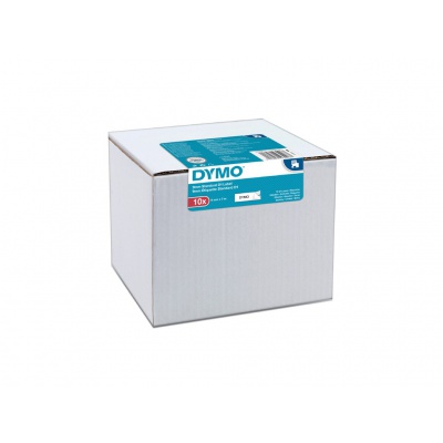 Dymo D1 40913, 2093096, 9mm x 7 m, czarny druk / biały podkład, taśma oryginalna, 10 szt.