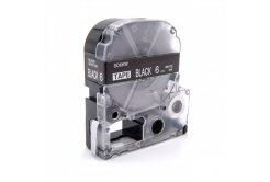 Epson LC-SD6KW, 6mm x 8m, biały druk / biały podkład, taśma zamiennik