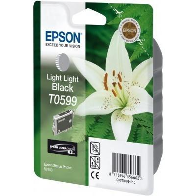 Epson T059940 světlá czarny (light black) tusz oryginalna
