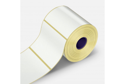 Samoprzylepne PP (polypropylen) etykiety, 25x10mm, 5000 szt., pro TTR, biały, rolka