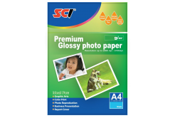 SCI GPP-230 Glossy Inkjet Photo Paper, 230g, A4, 20 listů, błyszczący papier fotograficzny