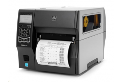 Zebra ZT420 ZT42063-T0E00C0Z drukarka etykiet, 12 dots/mm (300 dpi), RTC, display, RFID, EPL, ZPL, ZPLII, USB, RS232, BT, Ethernet