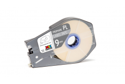 Partex PROMARK-PL090CN9, bílá samolepicí taśma, 9mm, 30m